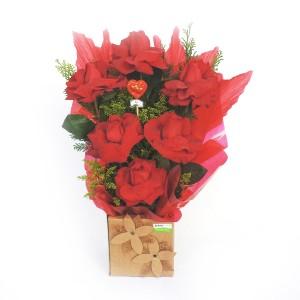 Arranjo-com-6-Rosas-Importadas-de-Frente-na-Caixa
