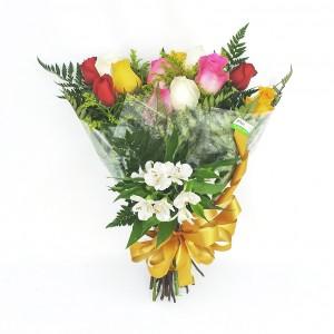Buquê-com-12-Rosas-Coloridas-2